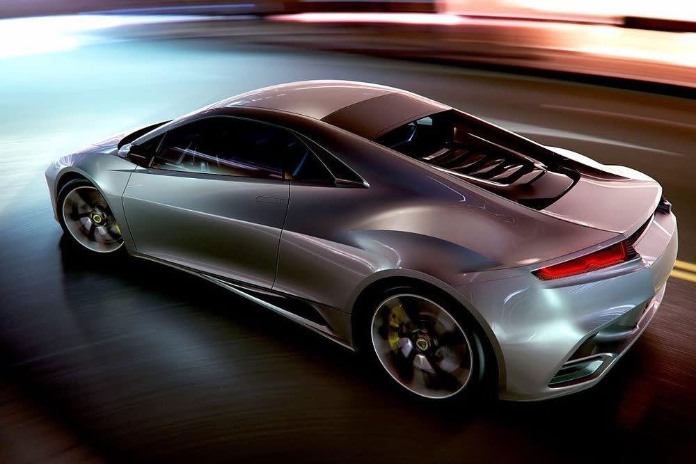 Der Elan kommt im Herbst 2013. Der Zweisitzer (optional 2+2) hat einen Mittelmotor mit 450 PS. Tempo Hundert erreicht er nach 3,5 Sekunden, bei 310 km/h endet der Vortrieb