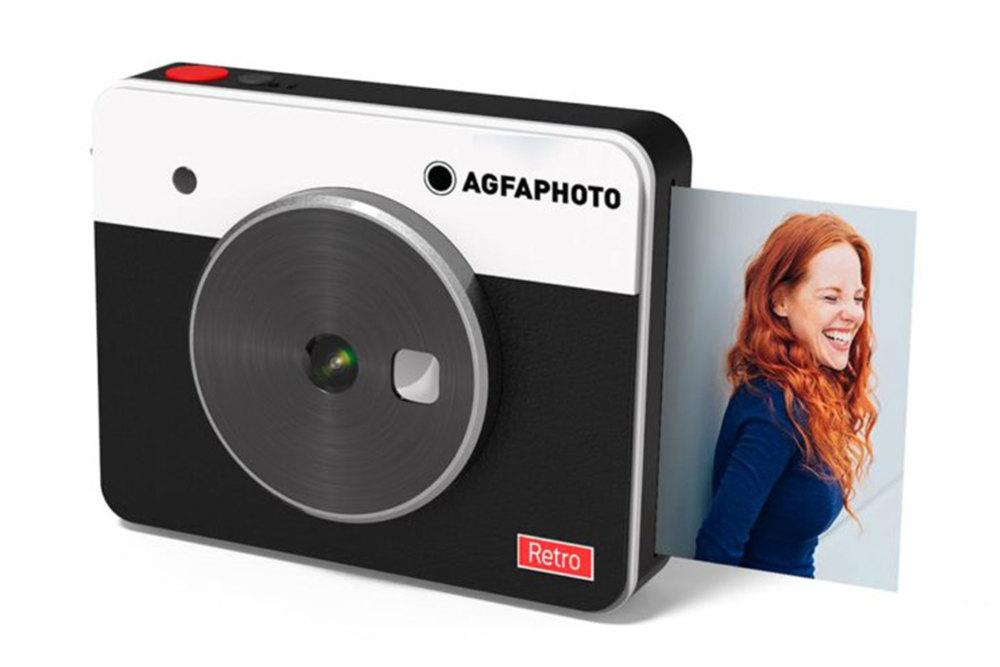 Agfa Realpix Square S, Sofortbildkamera, Polaroid Kamera