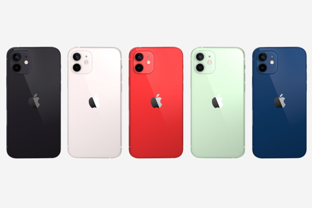 Apple Keynote 2020, iPhone 12 Farben