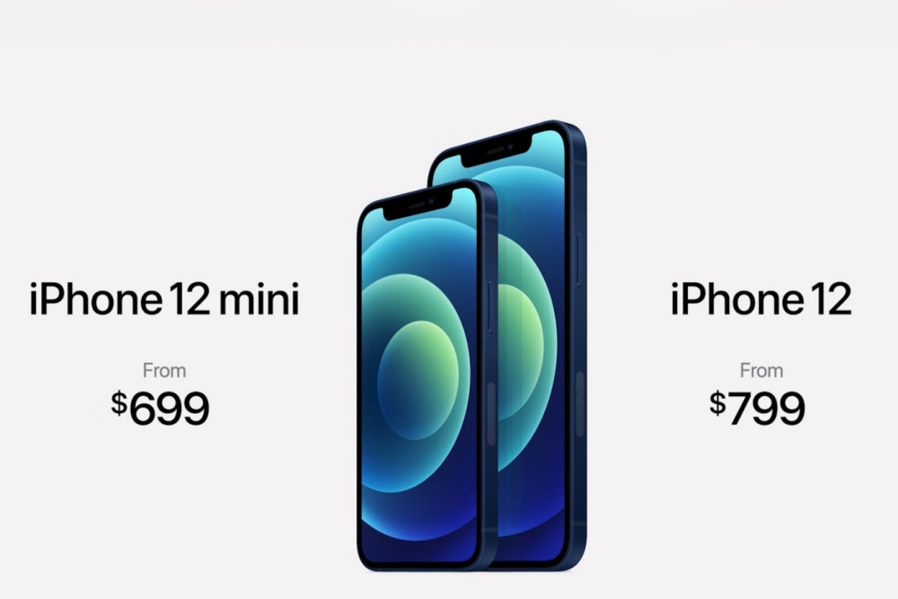 Apple Keynote 2020, iPhone 12, iPhone 12 mini