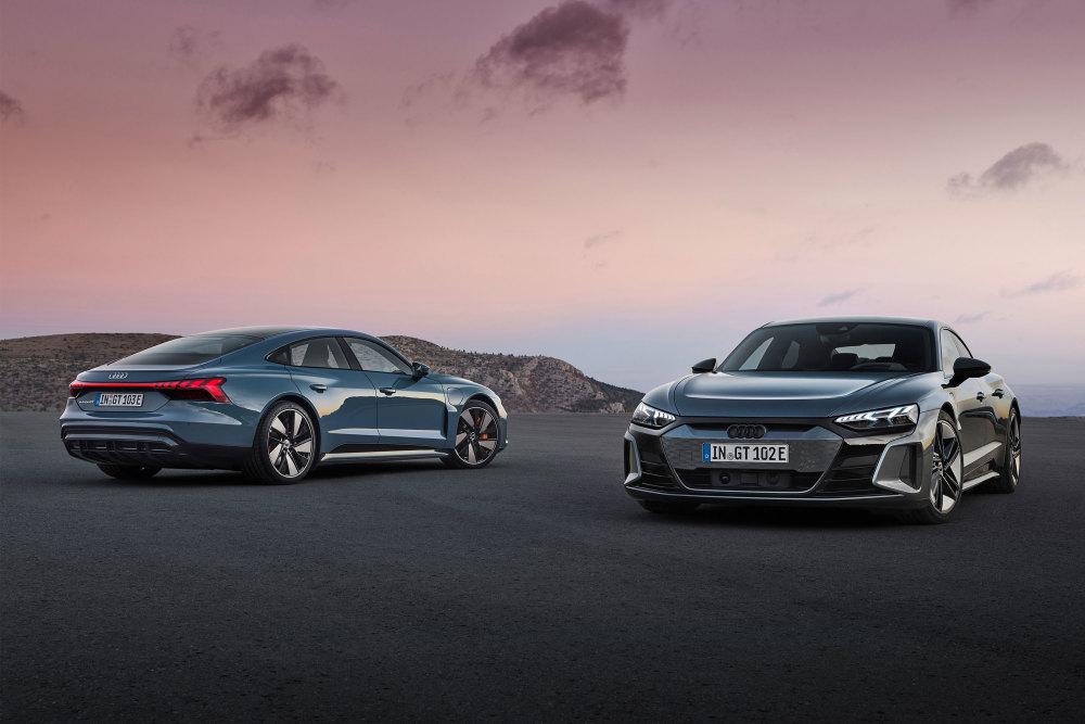 Der neue Audi e-tron GT kommt in zwei Varianten auf den Markt.