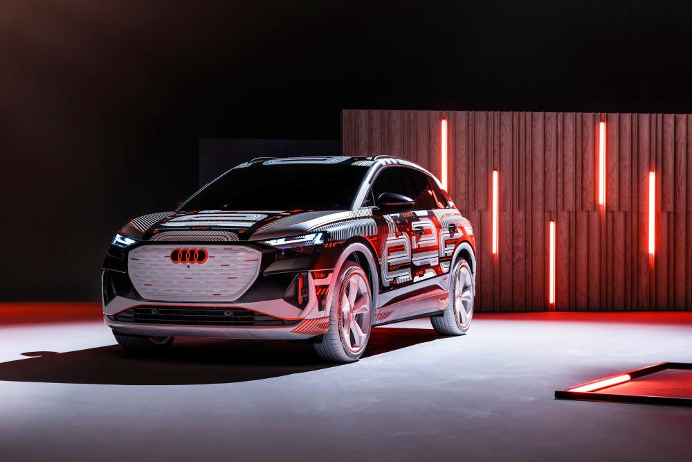 Am 14. April präsentiert Audi den Q4 e-tron.