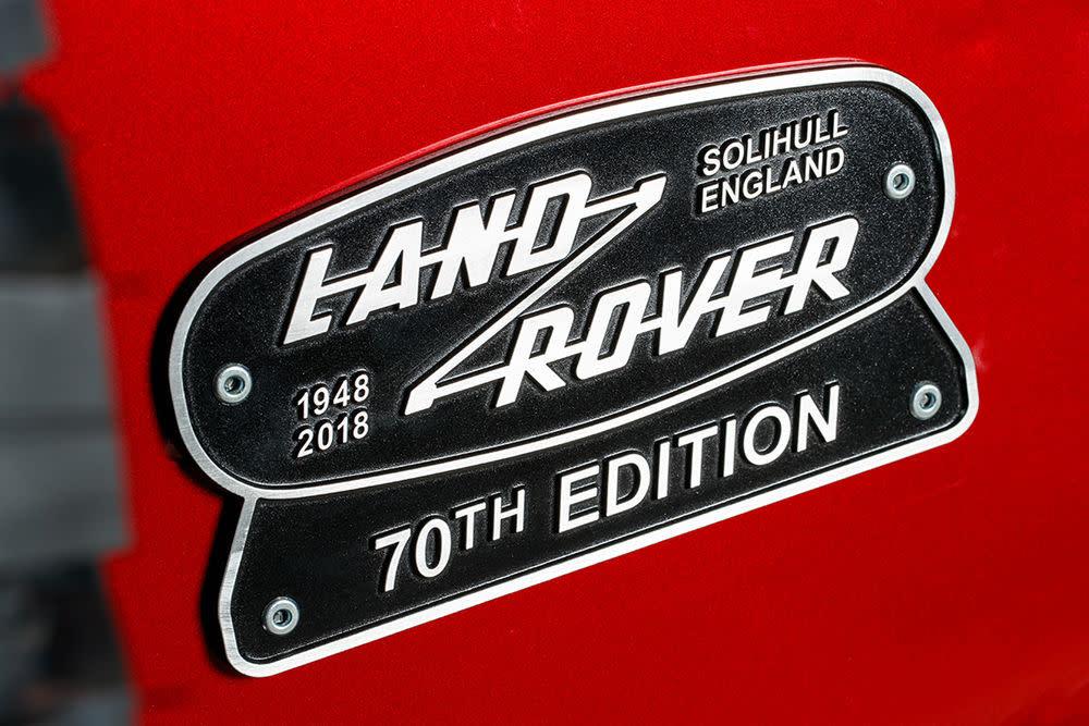 70 Jahre Land Rover Defender.