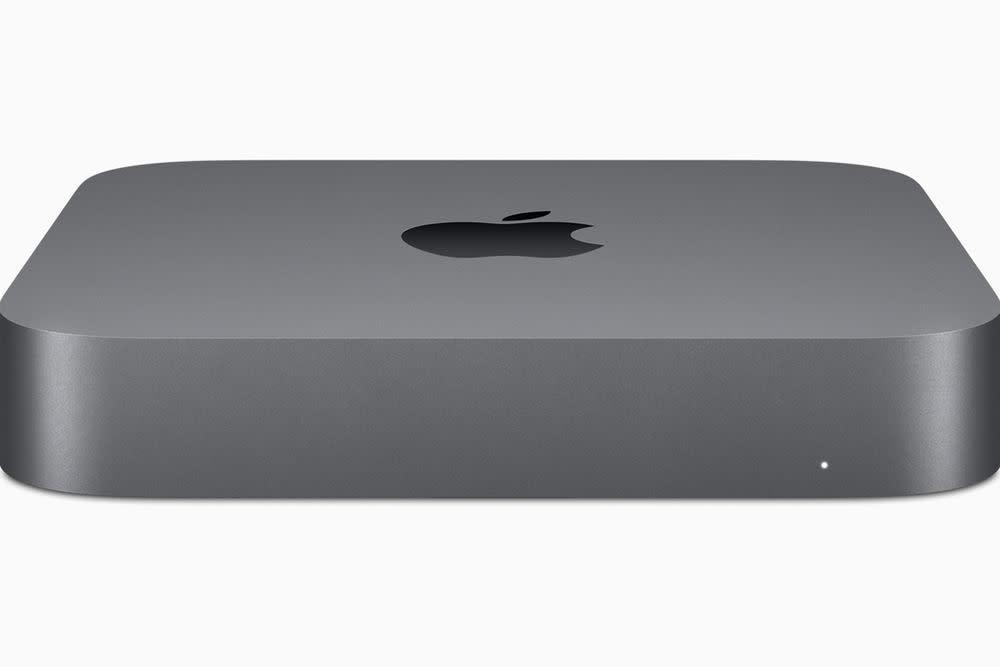 Auf der Keynote wurde auch der neue Mac mini vorgestellt.