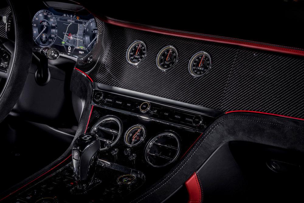 Im Innenraum lässt der Bentley Continental GT Speed keine Wünsche offen.