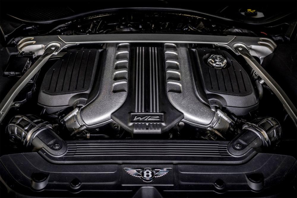 Der überholte W12-Motor ist das Herzstück des neuen Bentley Continental GT Speed.