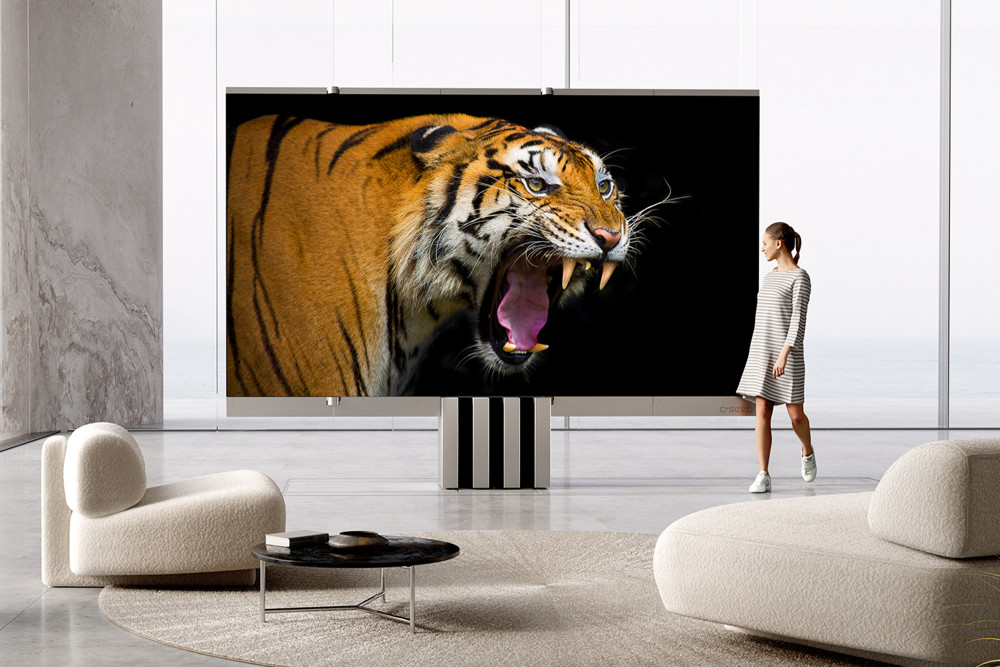 Der C Seed M1 Riesen-TV hat unglaubliche Ausmaße.