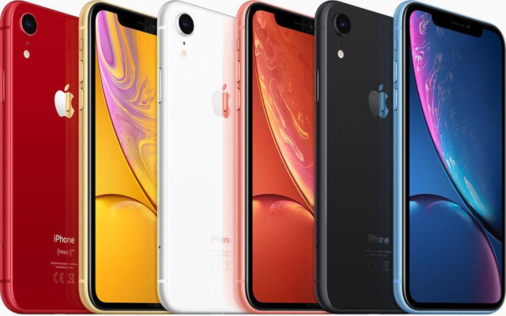 Das iPhone XR kommt in sechs verschiedenen Farben auf den Markt.