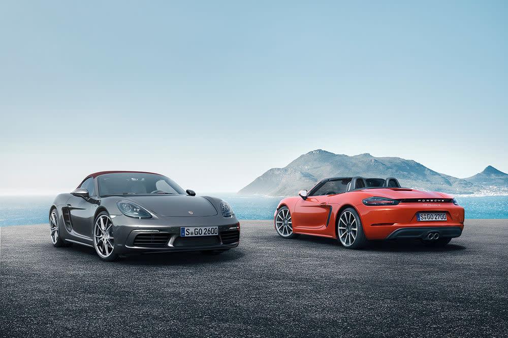 Preise Porsche Boxster und Boxster S