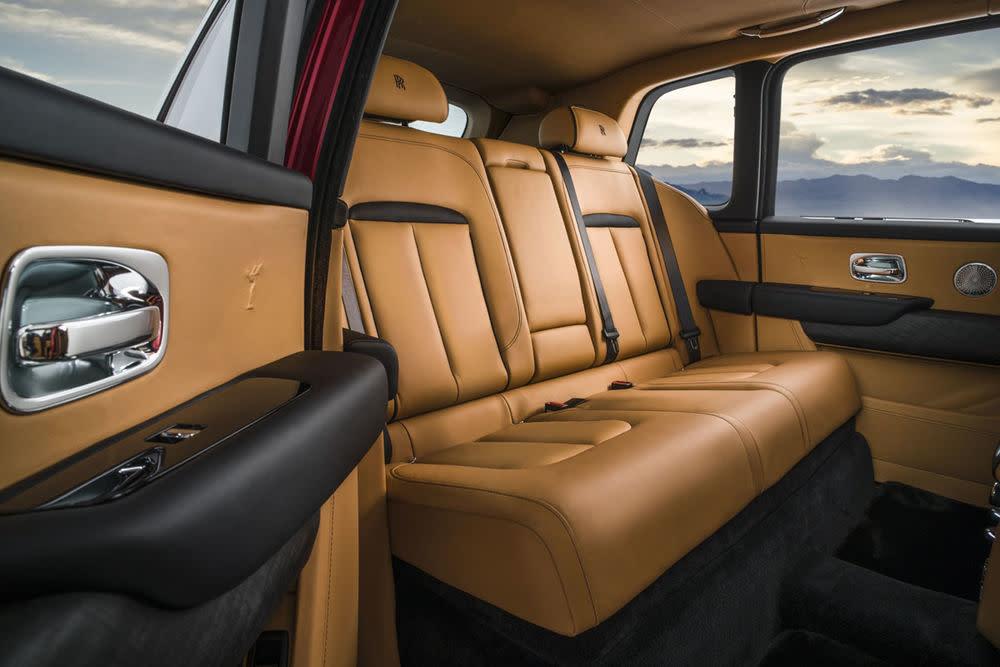 Rolls-Royce Cullinan, Magma Red, Interior, Innenraum