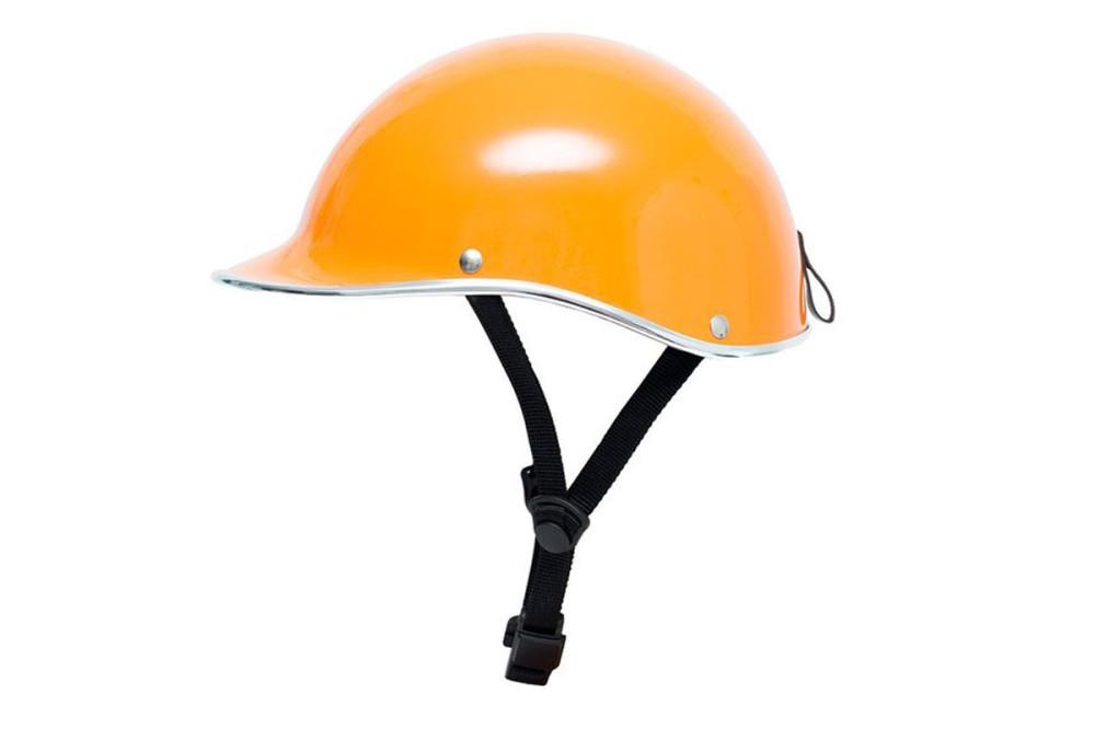 Dashel Orange Helmet Gloss Finish
