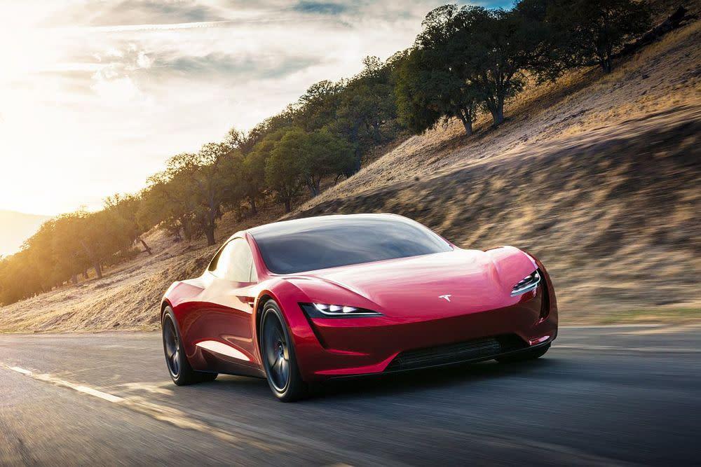 Der US-Konzern enthüllte in der vergangenen Nacht kurzerhand die zweite Generation des Tesla Roadster.