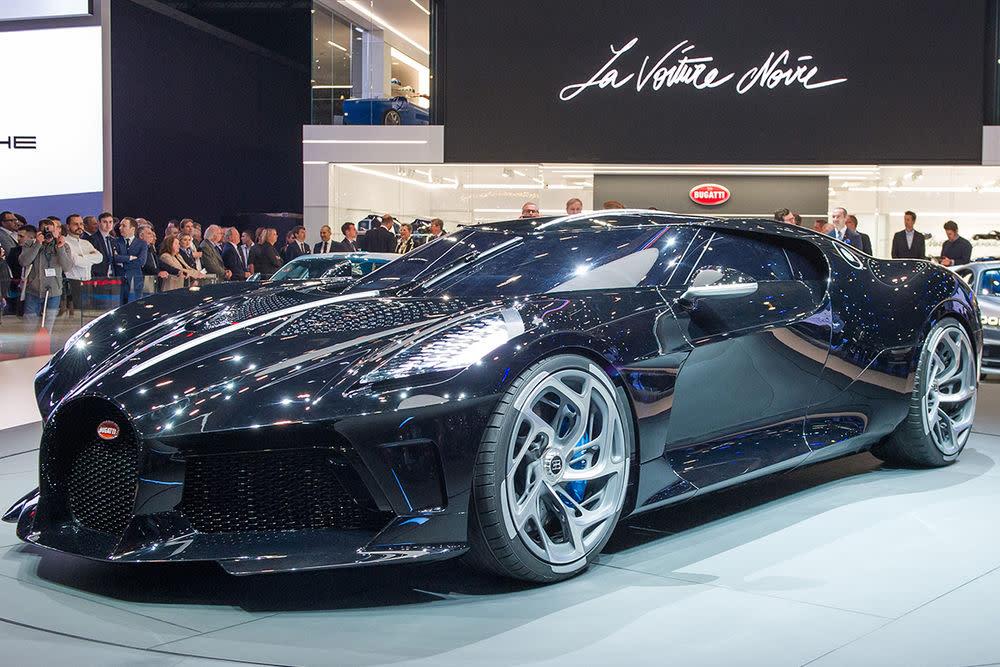 """Bugatti """"La Voiture Noire"""": Das teuerste Auto der Welt"""