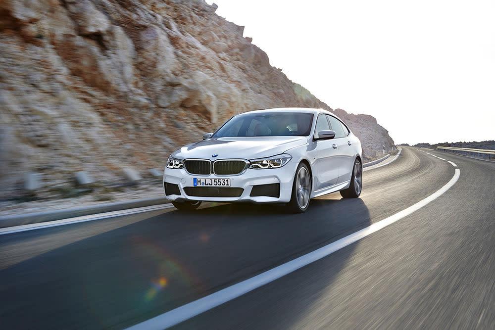 Der BMW 5er GT heißt künftig BMW 6er GT.