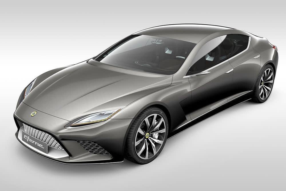 Mit dem Viersitzer Eterne will Lotus den Porsche Panamera und den Aston Martin Rapide attackieren – im Frühjahr 2015 kommt der Heckantriebler auf den Markt. Ein Vierradantrieb wird optional angeboten