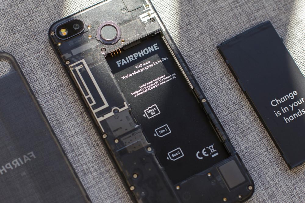 GQ testet das nachhaltige Smartphone Fairphone 3