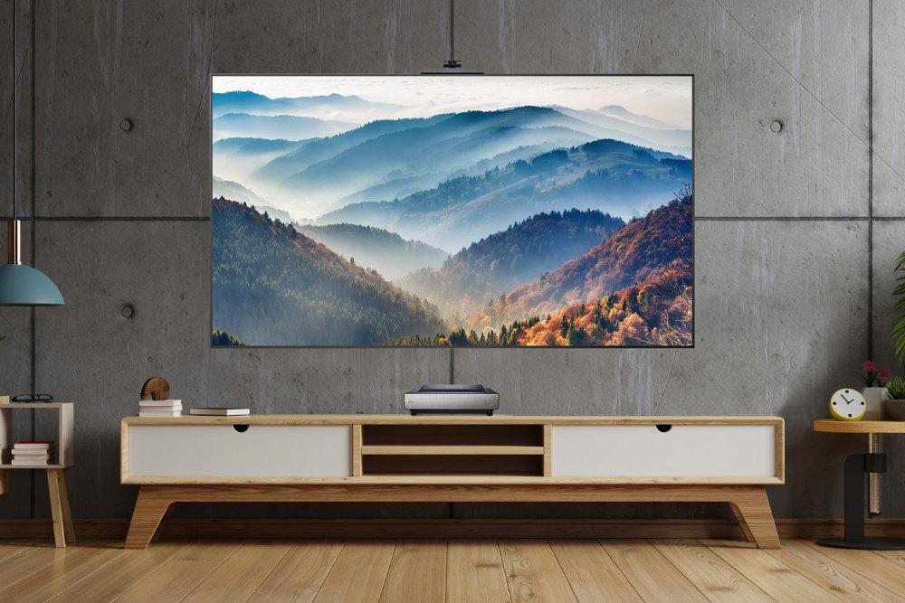 Hisense präsentiert mit dem TriChroma Laser TV einen der besten Fernseher 2021.