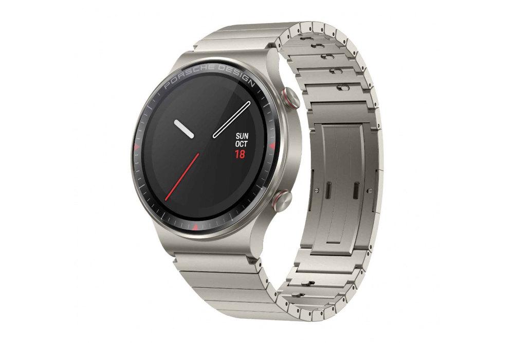 Die Porsche Design Huawei Watch GT 2 ist eine Luxus-Smartwatch