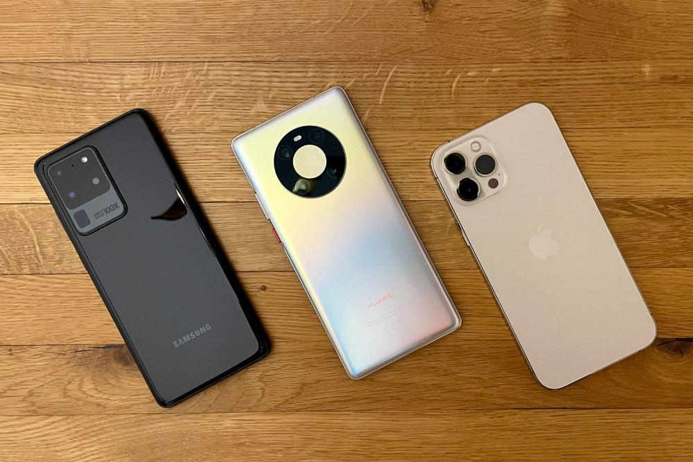 Das iPhone 12 Pro Max im großen GQ-Vergleichstest