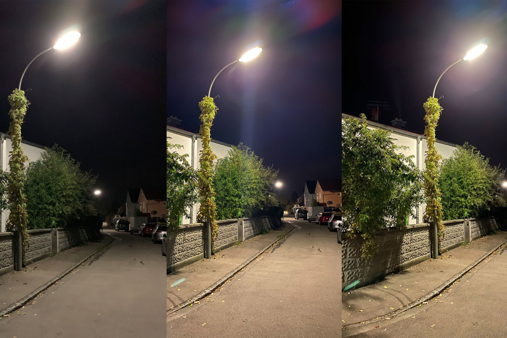 Der Nachtmodus des iPhone 12 im Vergleich