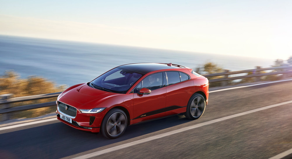 Top 10 Tesla-Konkurrenten: Jaguar I-Pace
