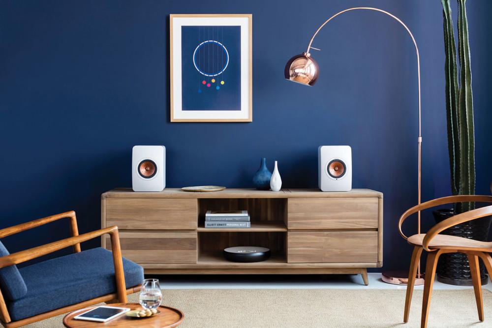 Verwenden Sie mehrere LS50 Wireless II-Lautsprecher, entsteht ein leistungsstarkes Multiroom-System.