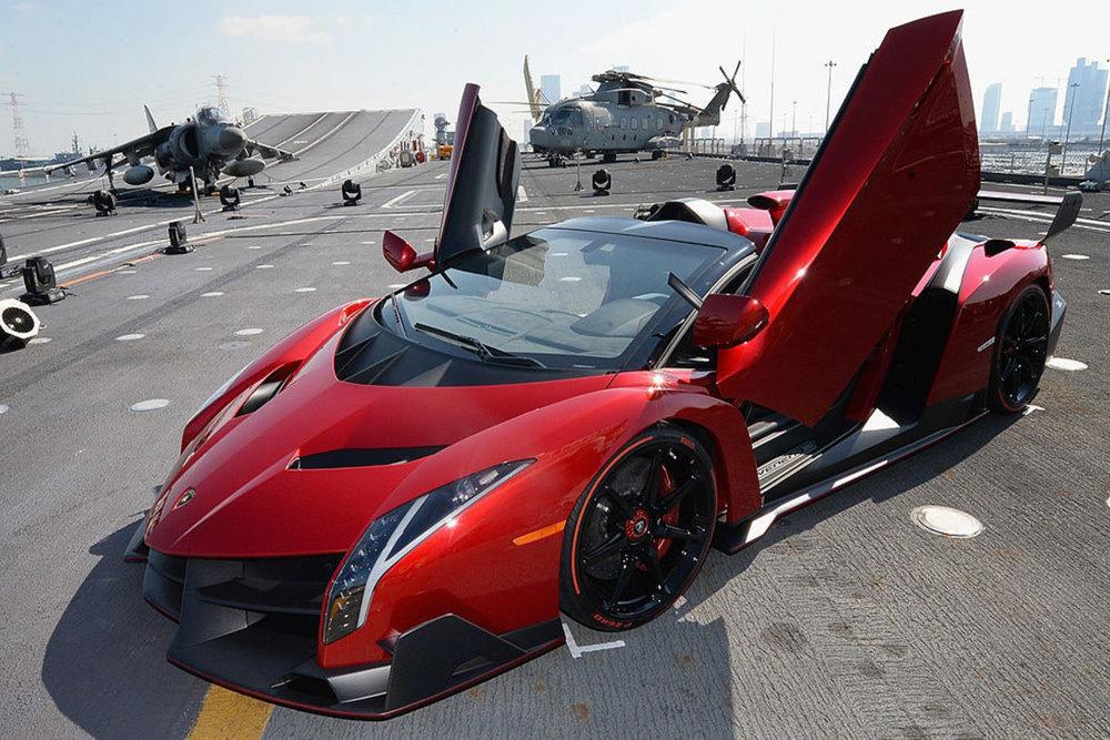 Der Lamborghini Veneno Roadster gehört zu den 10 teuersten Autos der Welt 2020