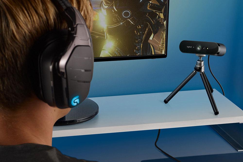 Streaming, Profis, Zubehör, Ausrüstung, Webcam, Logitech Brio