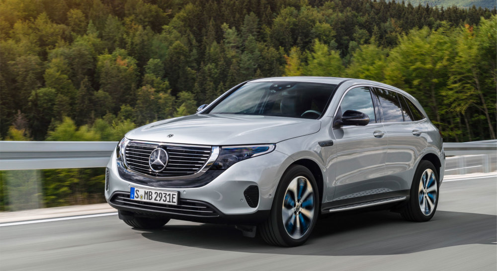 Top 10 Tesla-Konkurrenten: Mercedes-Benz EQC 400