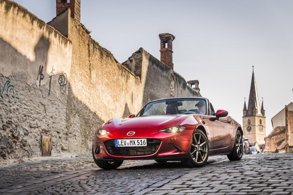 Der Mazda MX-5 ist das meistverkaufte Cabrio der Welt