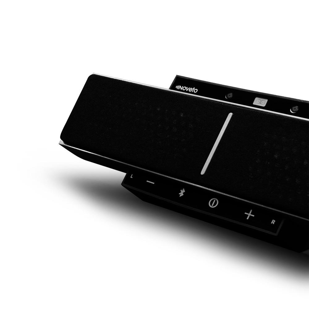 Der Noveto Soundbeamer 1.0 arbeitet mit Ultraschallwellen, die vor die Ohren gebeamt werden.