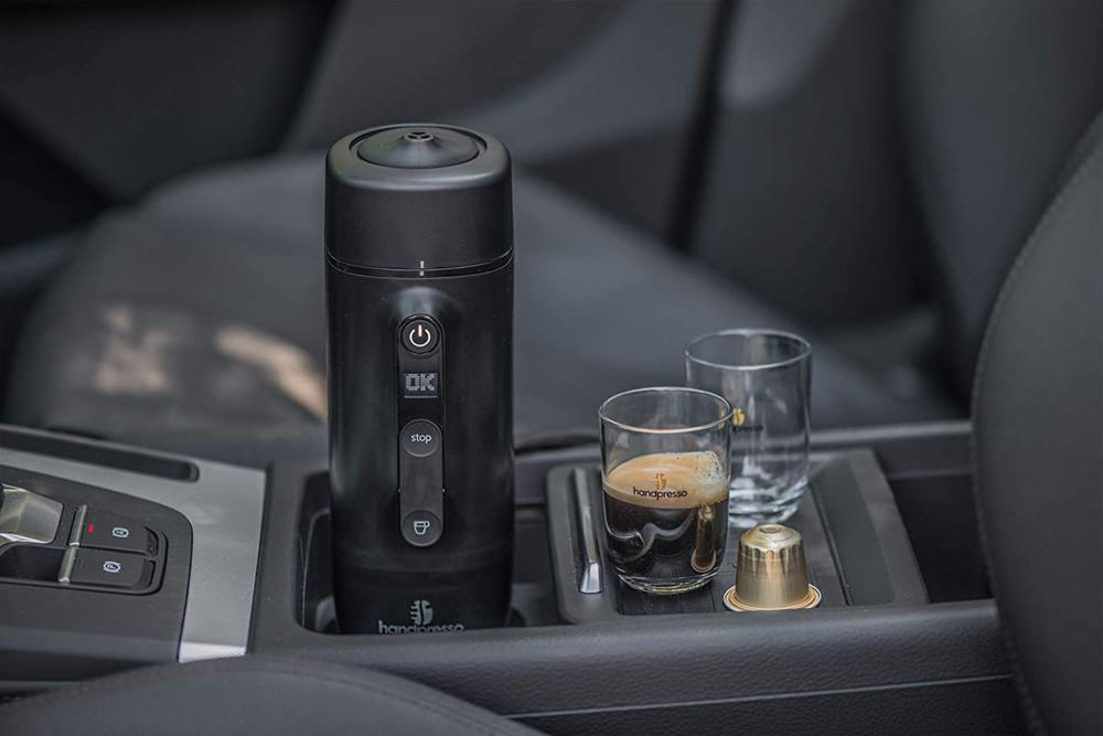Outdoor-Gadgets, Gadgets, Sommer 2020, Sommerurlaub, Kaffeemaschine, Handpresso, Handpresso Auto Capsule