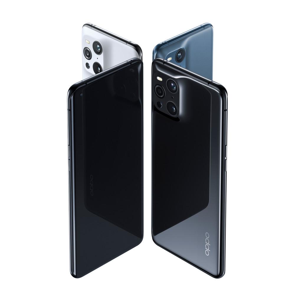 Das Oppo Find X3 Pro Smartphone wird in drei Farben angeboten.
