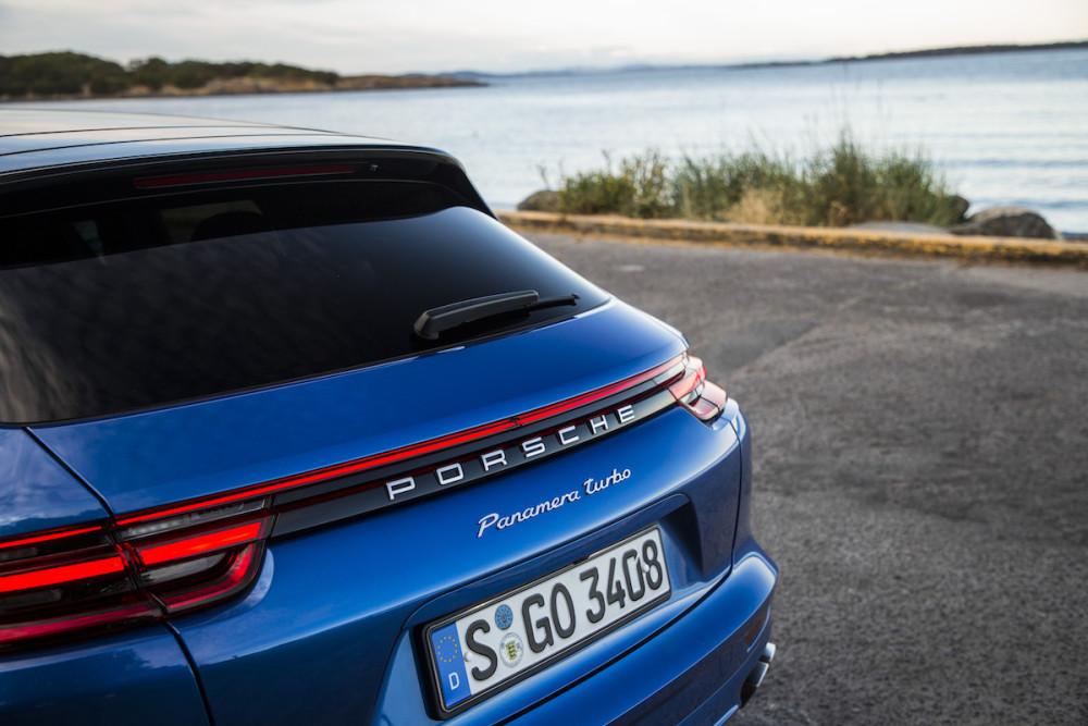 GQ Testwagen, Test, Sportlimousine, Porsche, Porsche Panamera Turbo