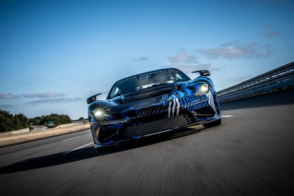 Die Beschleunigungswerte des Pininfarina Battista sind unglaublich.