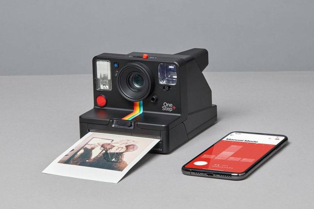 Polaroid OneStep+, Sofortbildkamera, Polaroid Kamera