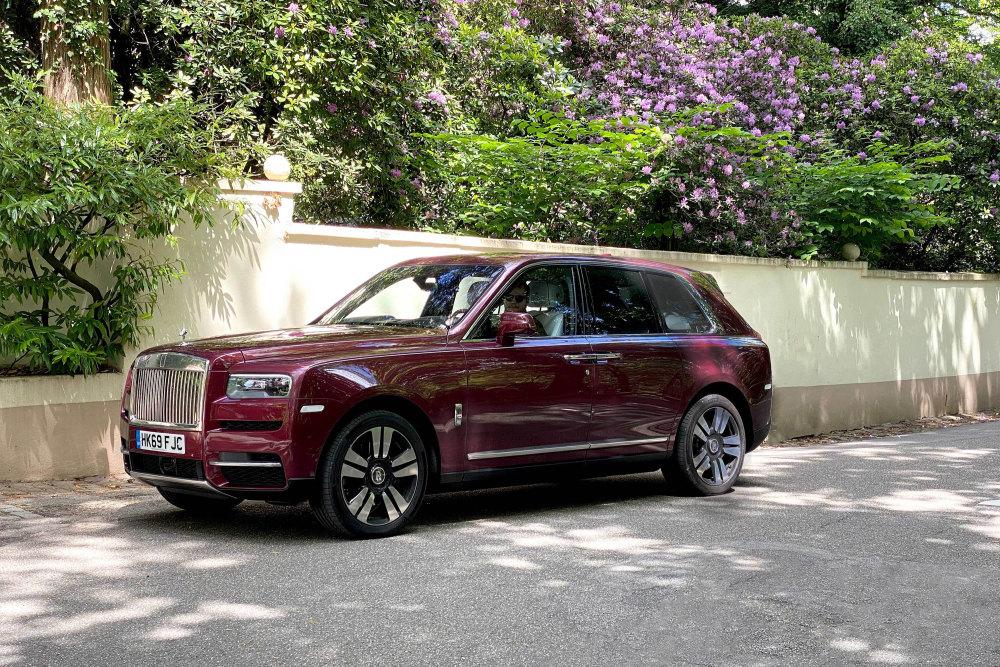 Der Rolls-Royce Cullinan in Baden-Baden