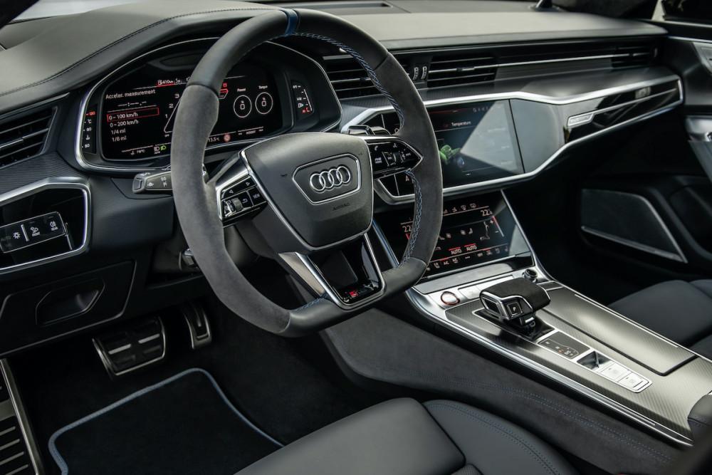 GQ Testwagen, Test, Sportlimousine, Audi, Audi RS7