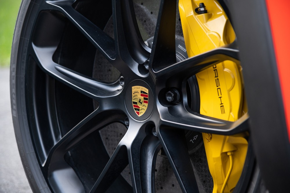 Gelbe Bremssättel, Porsche Cayenne Turbo Coupé