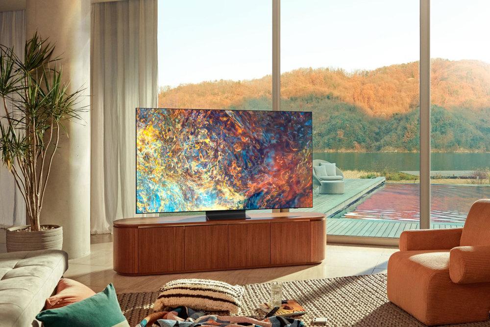 Samsung präsentiert mit dem QN900A TV einen der besten Fernseher 2021.