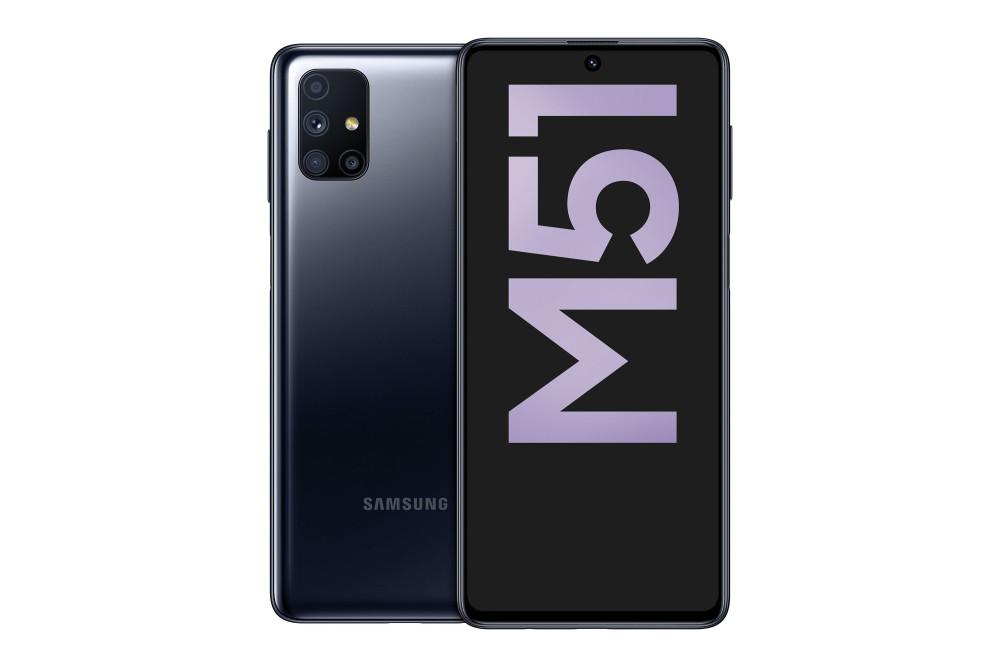 Das Smartphone Samsung Galaxy M51 überzeugt mit langer Akkulaufzeit