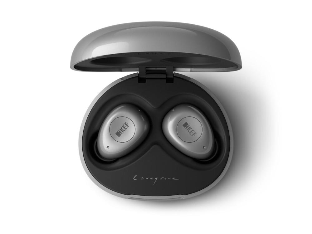 Die KEF Mu3 In-Ear-Kopfhörer hat Ross Lovegrove entworfen.