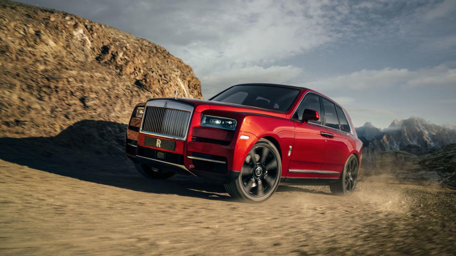 Fit fürs Gelände, alle Bilder, Luxus-SUV Rolls-Royce Cullinan