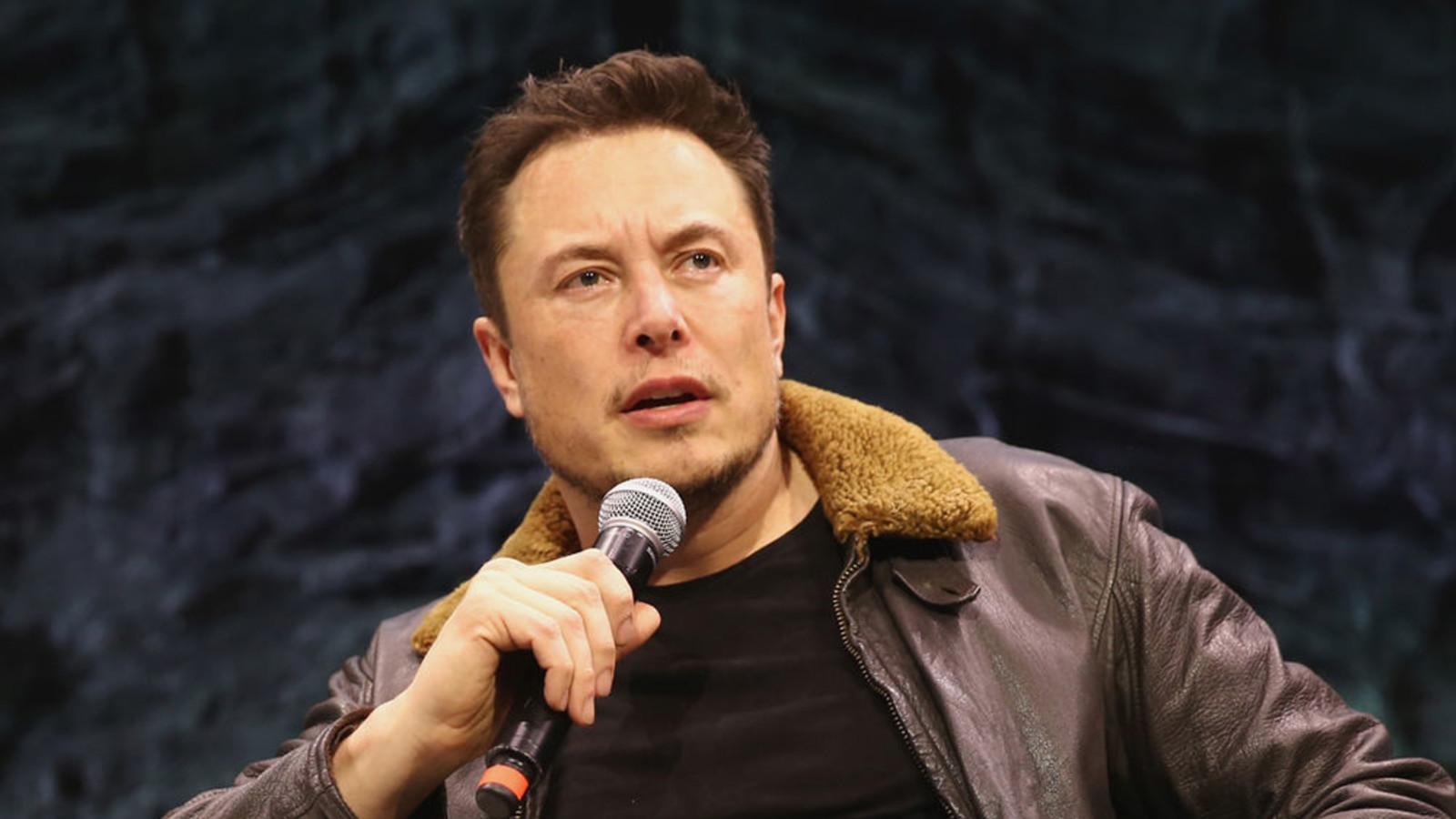 Tesla-Chef Elon Musk, kritische Fragen, Kurssturz, Aktie