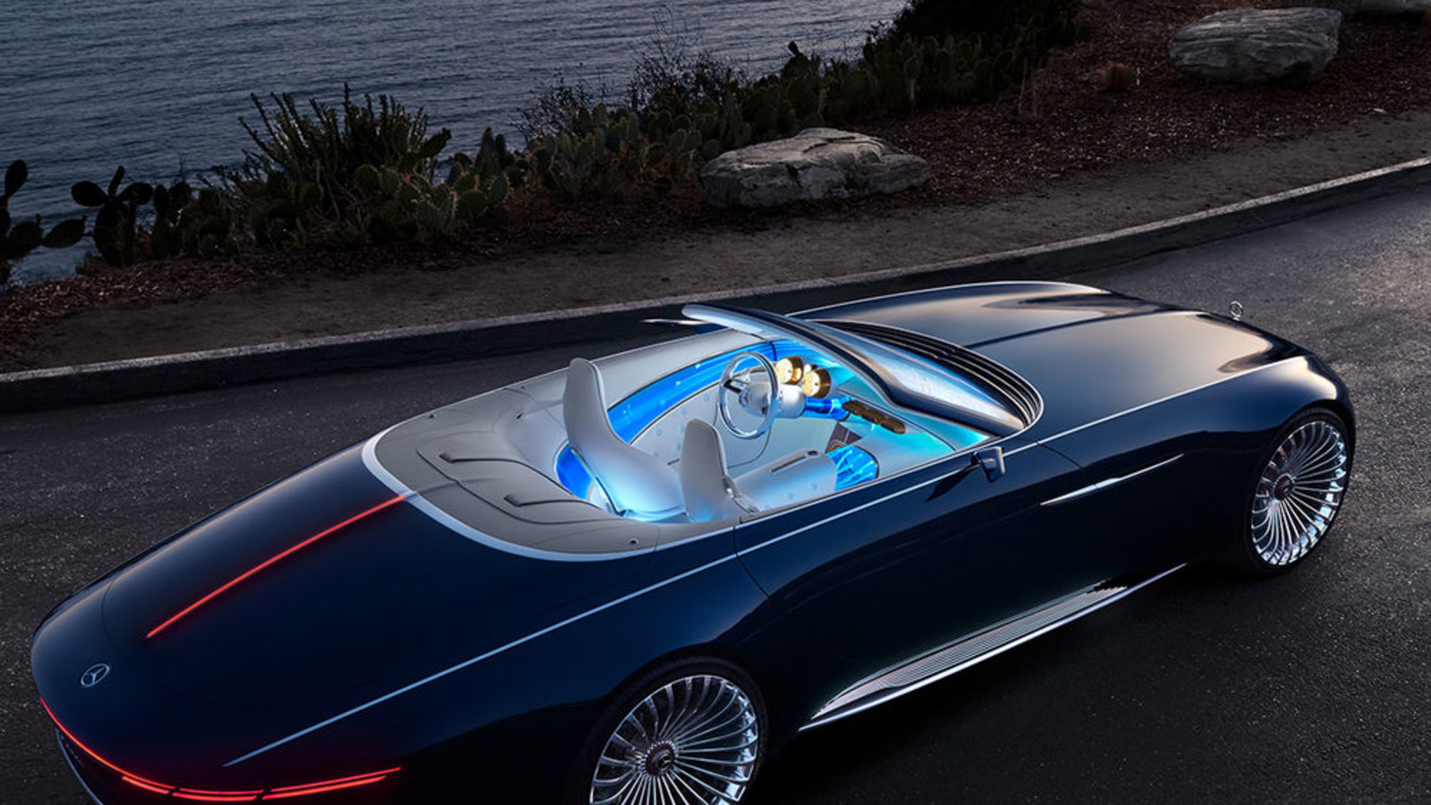 Mercedes-Maybach 6 Cabriolet, Pebble Beach