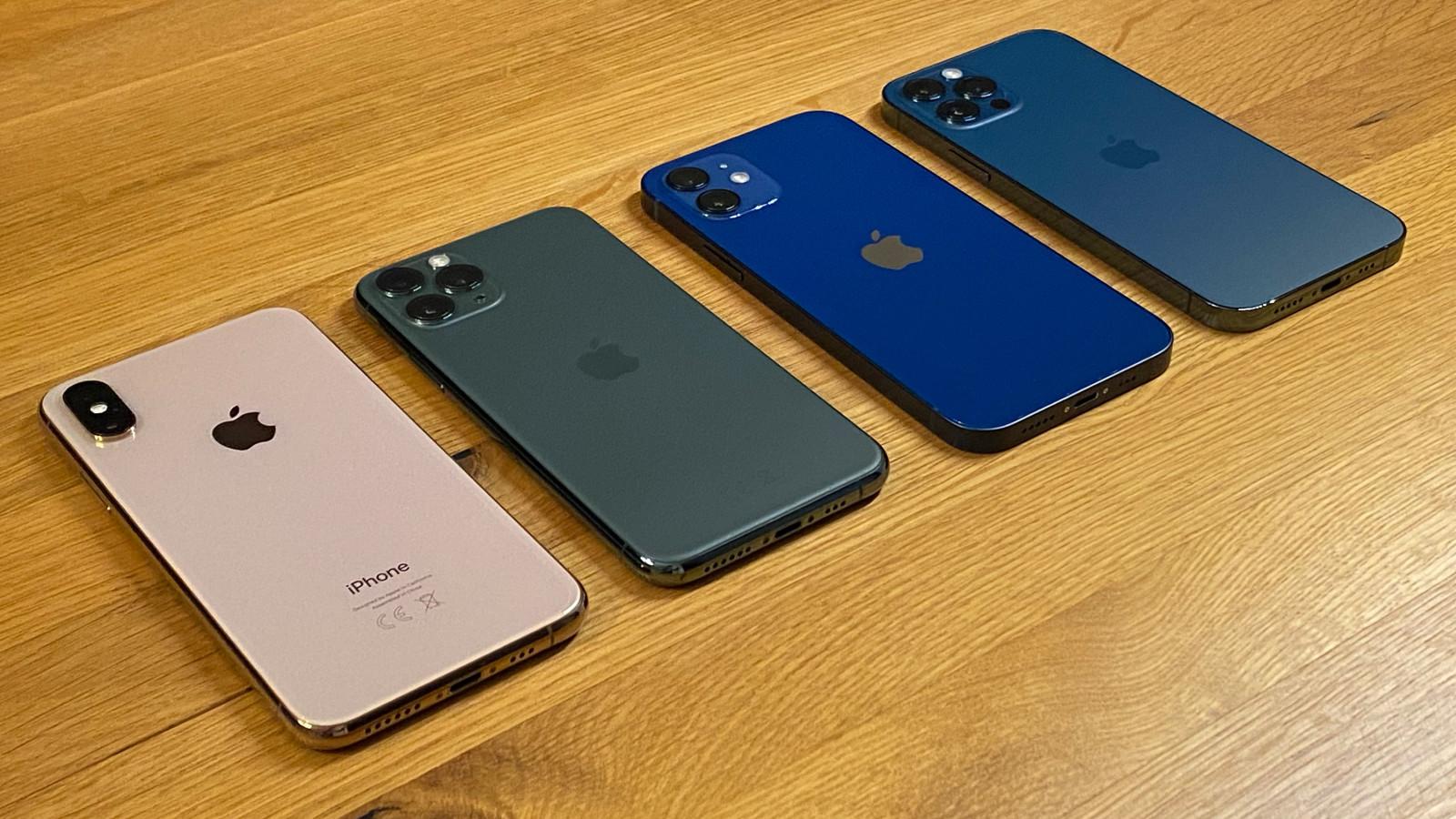 iPhone 12 und 12 Pro im Vergleichstest mit anderen iPhone-Modellen