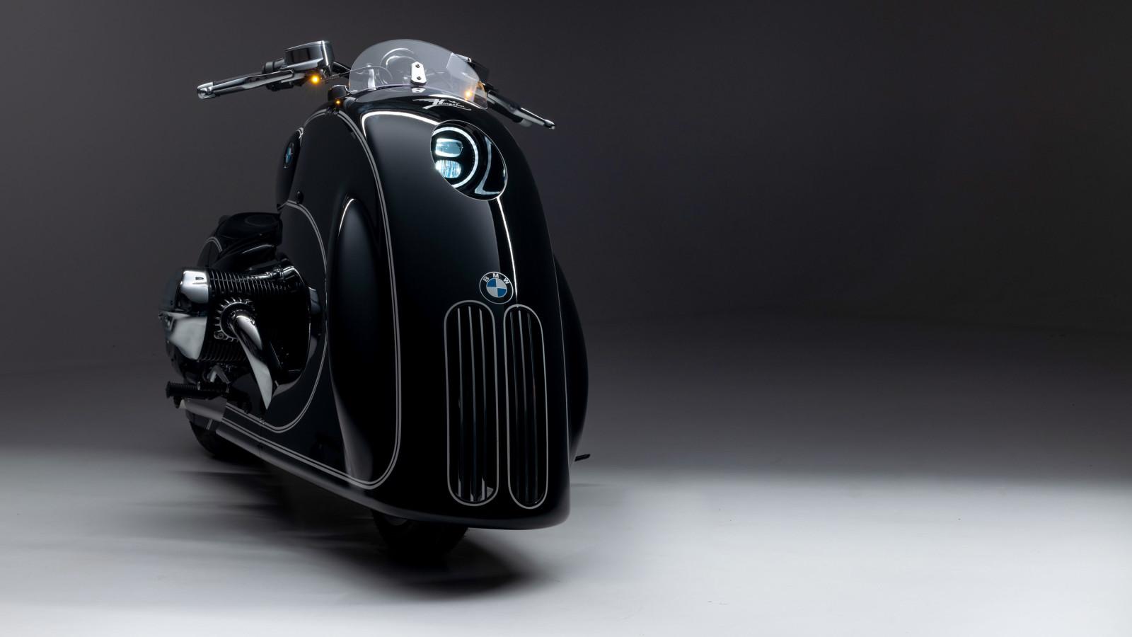 """Die BMW R18 """"Spirit of Passion"""" ist ein spektakulär umgebautes Motorrad."""