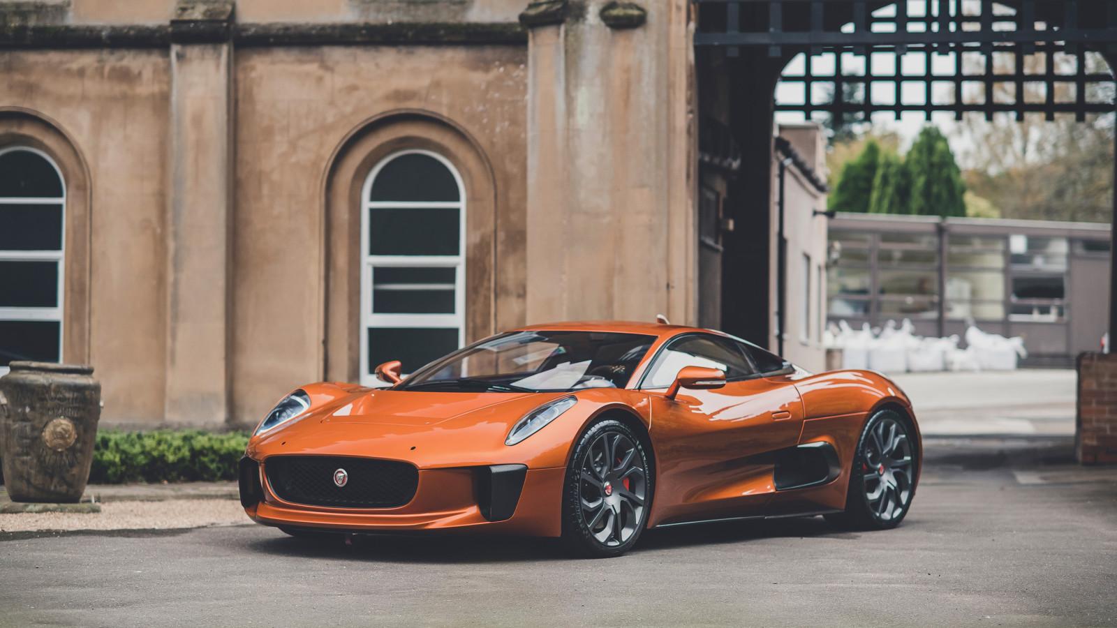 Der Jaguar C-X75 wird versteigert: