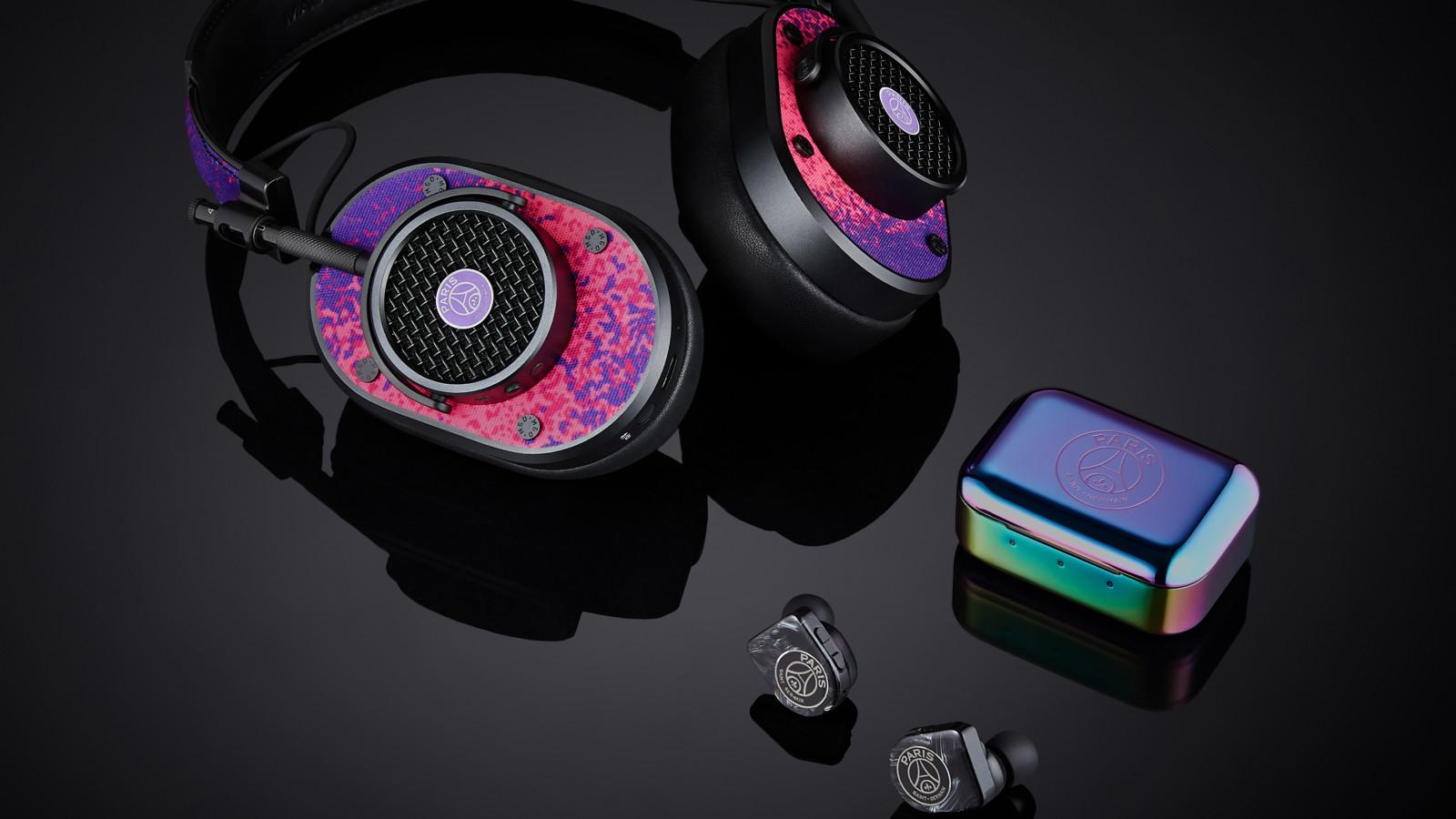 Master & Dynamic präsentiert neue Kopfhörer-Kollektion für Paris Saint-Germain.
