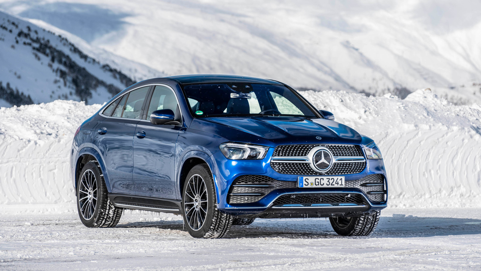 Mercedes-AMG GLE 53 4MATIC+ Coupé.